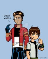 Ben 10 and Generator Rex by 4eknight11