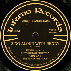 Sing Along with Bendy (78 rpm) by tymime