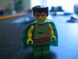 Custom Lego Fag Man (for upcoming video) by Digger318