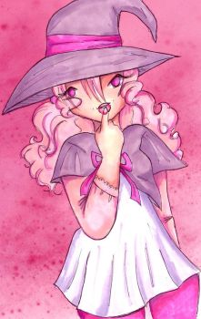 Pink Witch by Butterscotch25