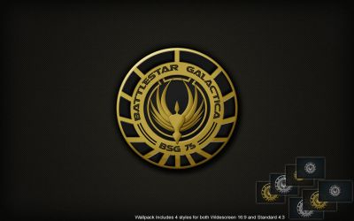 BSG Logo Wall by SKoriginals