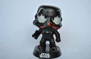 Custom Funko Pop Vinyl Marvel Venom Stormtrooper by ApplePie-Productions