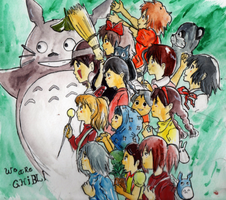 We are Ghibli by Kell0x