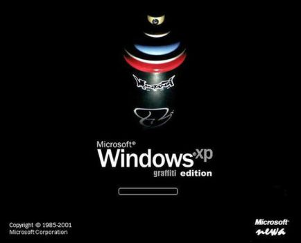 Windows XP - Graffiti Edition by newa