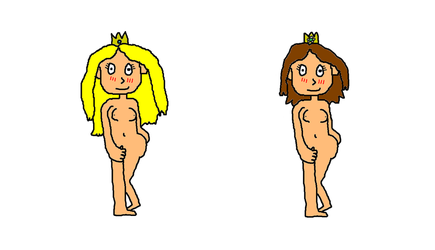 Request Princess Peach and Daisy nude by MarnicSteve92