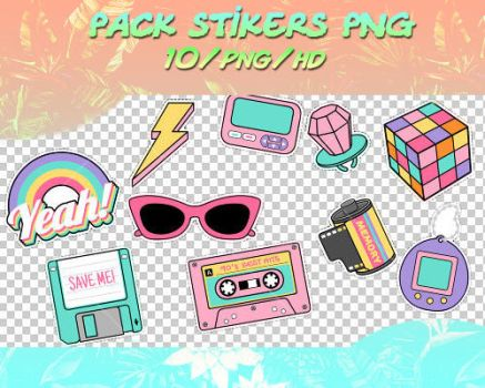 Pack Stikers Png by theoskater11