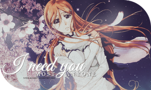 Signature - Orihime by TifaxxLockhart