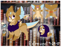 [Cyrling]Edmund Reference Sheet by TheLooneyCharboa