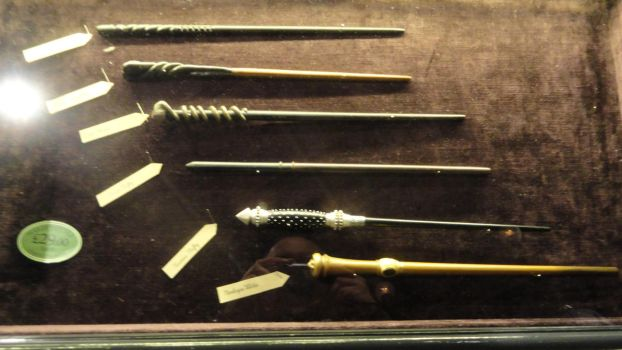 Wands Collection 1 - Harry Potter London WB Studio by lv888