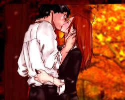 Harry and Ginny FALL in love by Brookestirr