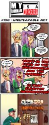 MRIAM: #190 - Unspeakable Act by SonicWolvelina99
