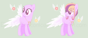 Oozing Angels- Pony Species Idea by Dorkly-Draconic