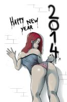 Happy new year 2014 by tranenlarm