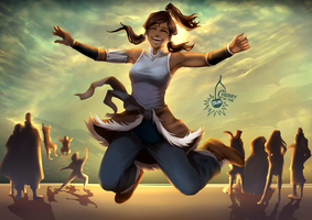 Korra - Happiness by CherryInTheSun