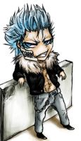 Chibi Grimmjow by AFunny