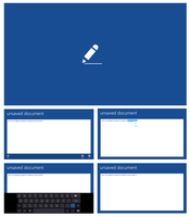 Notepad (Windows Store App) Concept by Brebenel-Silviu