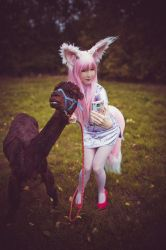 Don't be shy alpaca-chan by UniCatCosplay