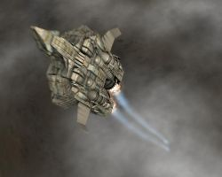 Gunship Blast Off by Trekkie5000