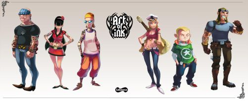 Art of Ink - Oficial release by sakya