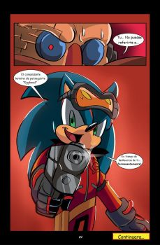 Sonic  The G U N  Project Pt3 Pg24 By Chauvels-dav by Flordeoro