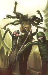 Screaming Mantis MGS4 by Zeronis