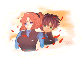 molly and leon by Shadow-sah