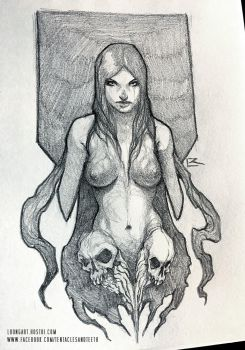 Succubus Sketch by TentaclesandTeeth