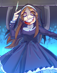 possessed mabel by PepperPixel