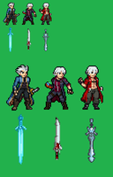 Jus Devil May Cry project by Zeh1999