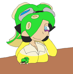 RQ Octo-Snivy Breast Pin down by CoffeeSpitter