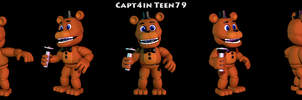 Adventure Freddy V.3 by Capt4inTeen79