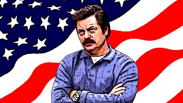 Ron Swanson by MarksCorp