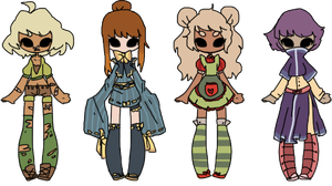 human batch [CLOSED] by togekissuadopts