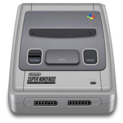 Super Nintendo Icon updated by idumbi