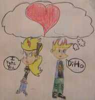 Johnny Test: Johnny and Sissy by Littelpan