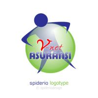 Logo Vnet Asuransi by spiderio