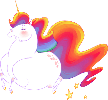 A lovely unicorn by hellcorpceo