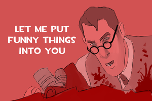 Valentine's Card from the medic by AnimalCogitantium