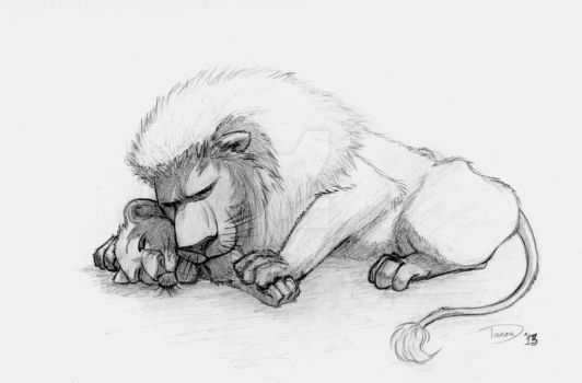 Lions - from 'The Wild' by KasumiTagai