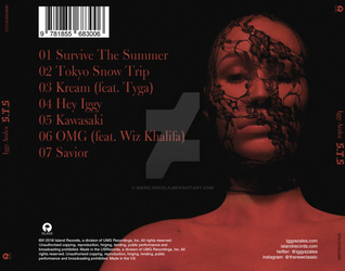Iggy Azalea - Survive the Summer (Back Cover) by marilyncola