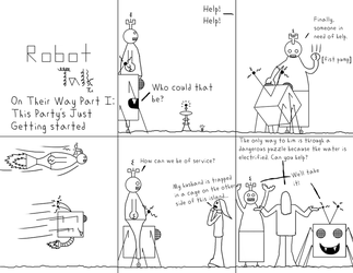 Robot Talk, Issue 4 by Down-Flower