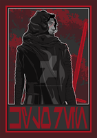 Enforcer Kylo Ren by phantoms-siren
