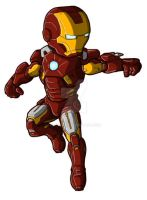 Chibi Movie Iron Man Mk 7 by GuyverC