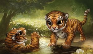 Creature Collection: Tiger by ALRadeck