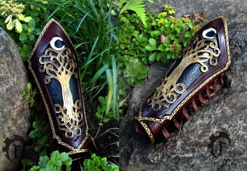 Elvish Mage bracer ^^ by Feral-Workshop