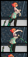 Dancing Penny by DeyaniraWitch