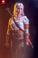 White Orchard - Ciri cosplay by Soylent-cosplay