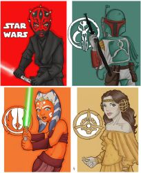 Star Wars chibies by pecheresses