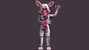 Funtime Foxy Full Body by Bantranic