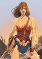 Wonder Woman Fan Art by ChonnalisaArt